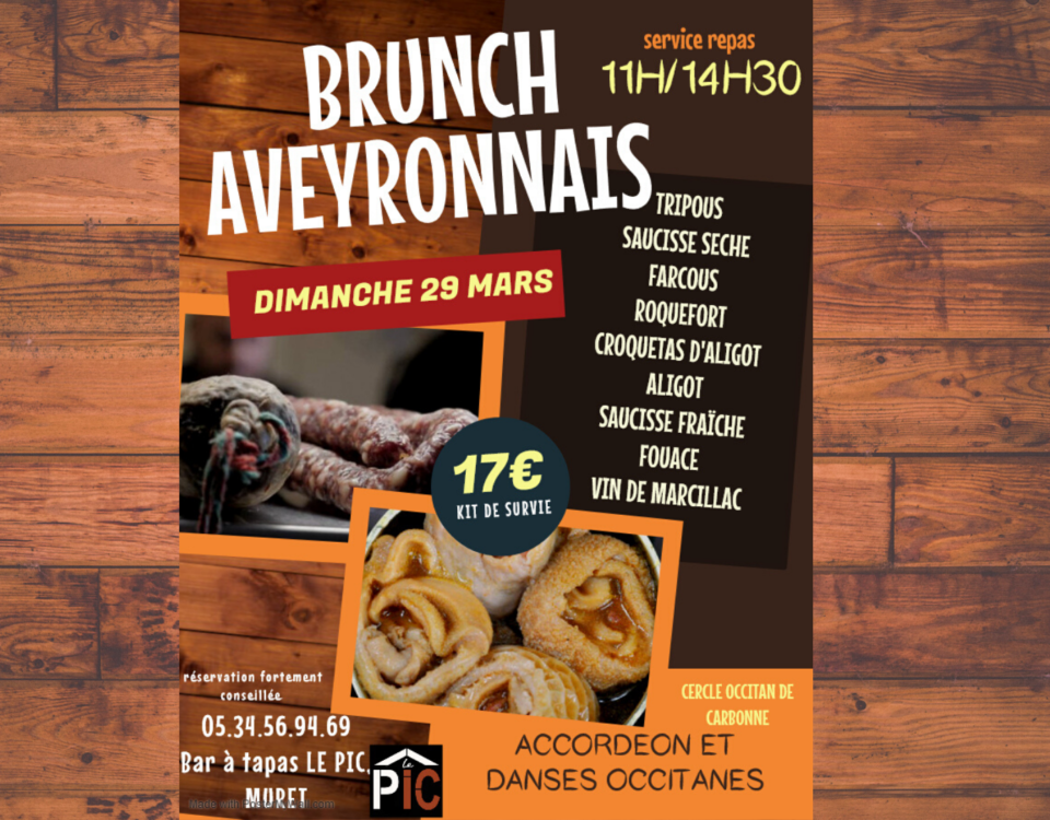 brunch aveyronnais du 29 mars FB